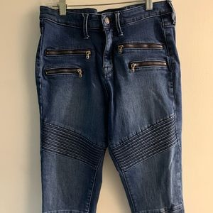Mossimo high rise stretch jeans